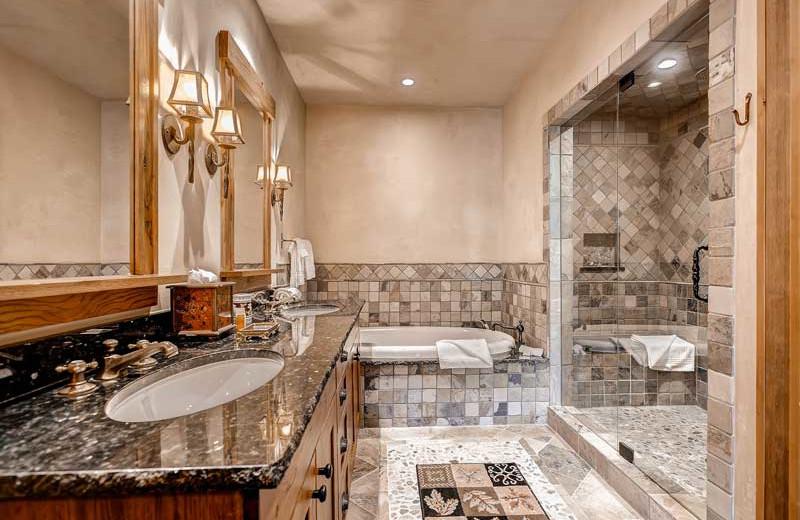 Rental bathroom at Beaver Creek Rentals by Owner.