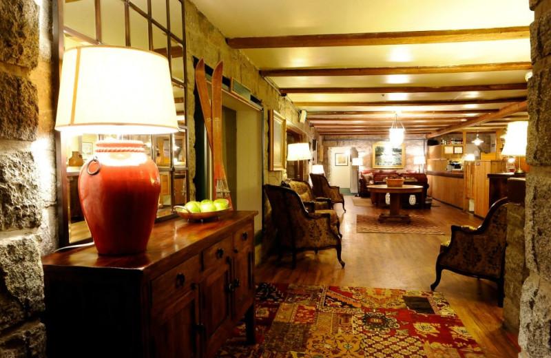 Interior view at Snowpine Lodge.