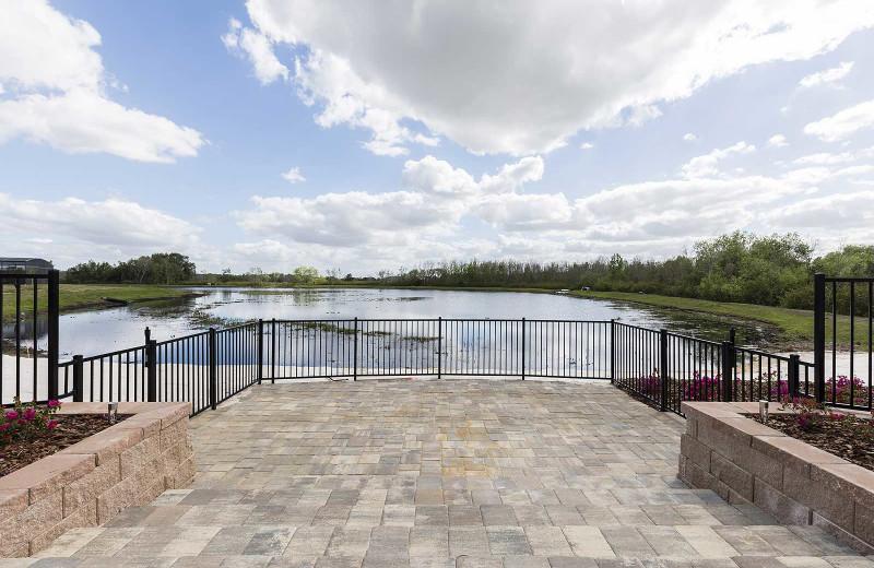 Lake view at Balmoral Resort.