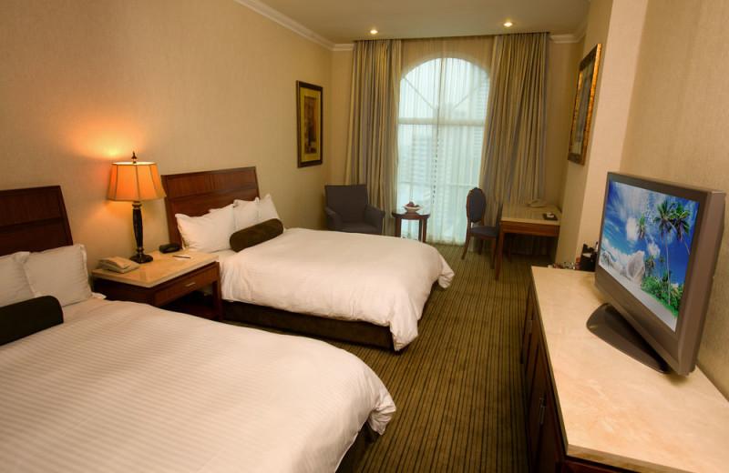 Guest room at Veneto Hotel & Casino.