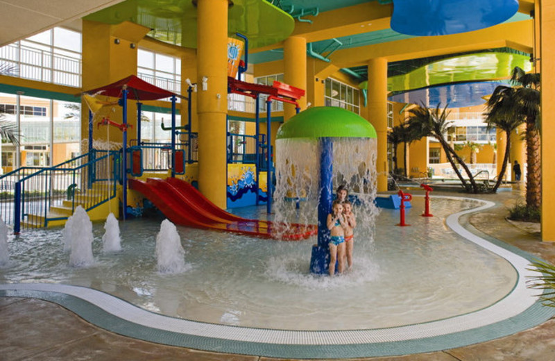 Resort waterpark at Sterling Resorts.
