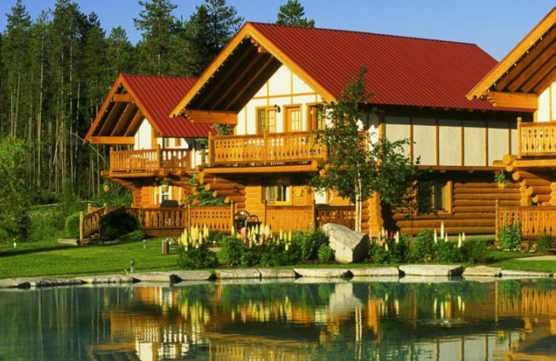Cabins at Great Northern Resort.