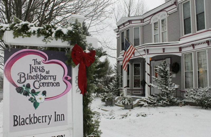 The holiday season at The Inns at Blackberry Common.