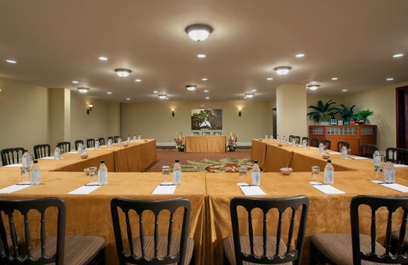 Meeting room at Cheeca Lodge & Spa.