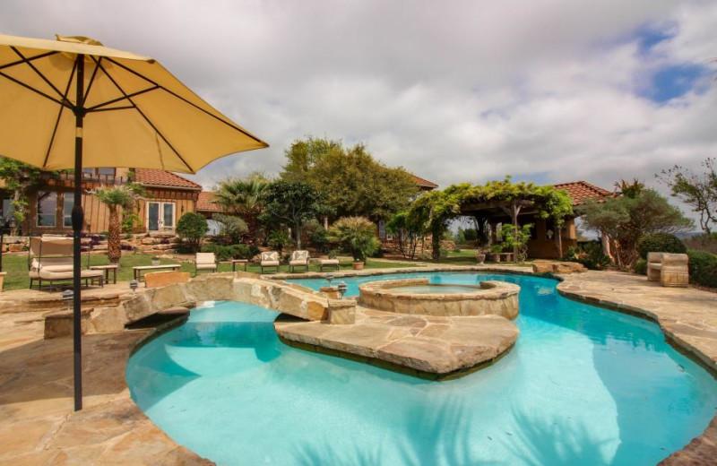 Rental pool at Vacasa Fredricksburg.