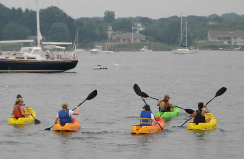 Kayaking at The Inn at Stonington