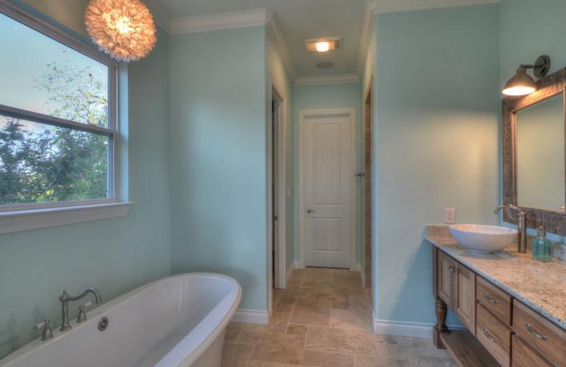 Bathroom at Lake Haus.