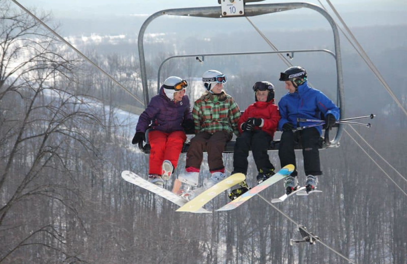 Ski at Crystal Mountain Resort and Spa.