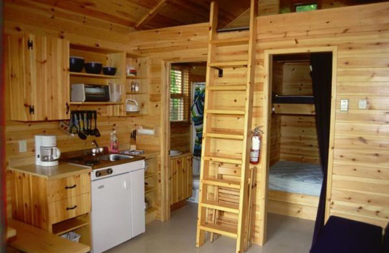 Cabin at Valley of Saint-Sauveur.