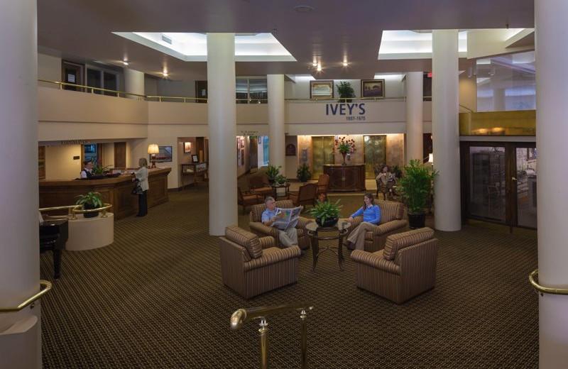 Lobby at the Haywood Park Hotel