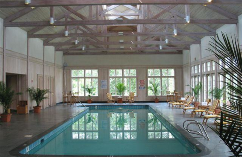 Indoor Pool at Berry Hill Resort