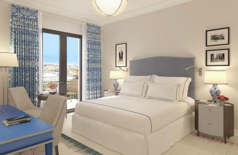 Guest room at Le Meridien Phoenicia.