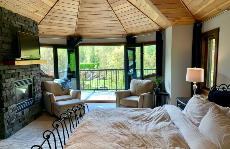 Rental bedroom at Fernie Central Reservations.