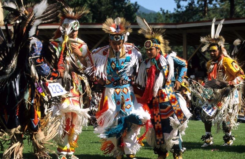 Native American ceremony near Playa Del Sol Resort.