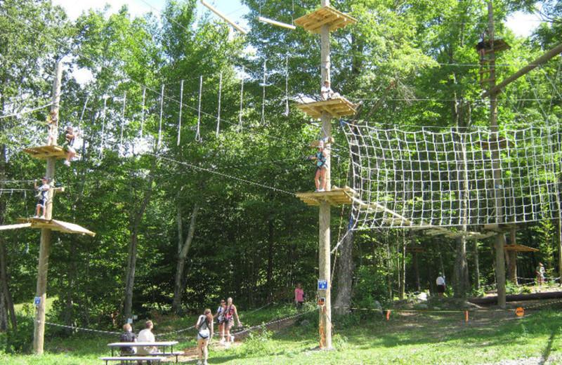 Arial Adventure Park at Jiminy Peak Mountain Resort.