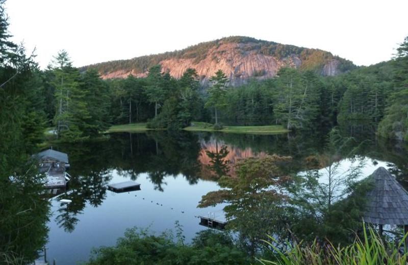 Hampton Lake at High Hampton Inn.