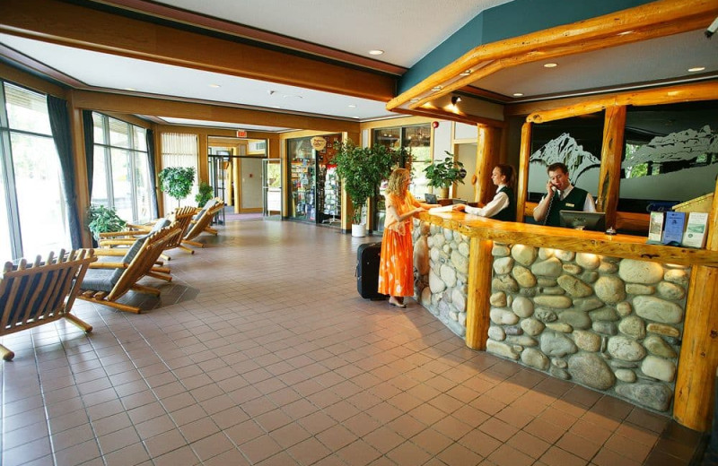 Lobby at Inns of Banff.