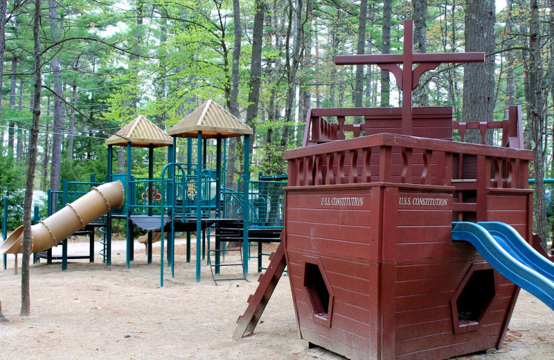 Playground at Mi-Te-Jo Campground.