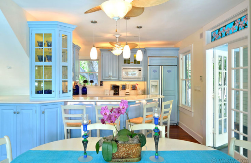 Rental kitchen at Vacation Homes of Key West.