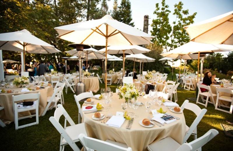 Wedding at Vine Hill House.