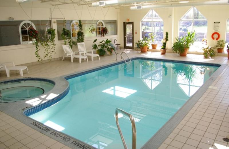 Indoor Pool at the Peninsula Inn & Resort