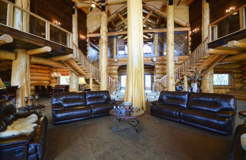 Interior of Log Country Cove.