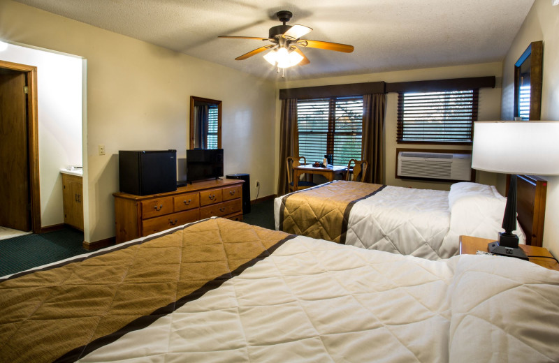 1 of 8 rooms within the Bear's Den Lodge. Rent the entire building or just 1 room!