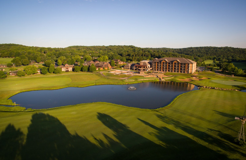 Exterior view of Old Kinderhook Resort & Golf Club.