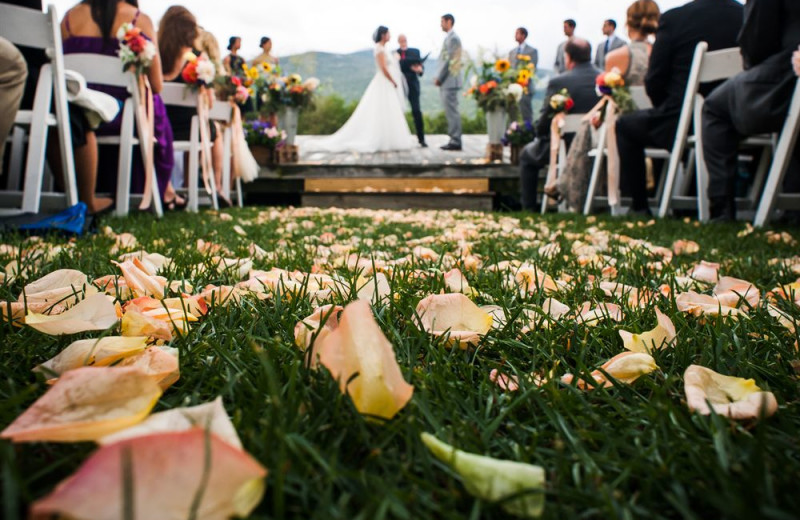 Weddings at Trapp Family Lodge.