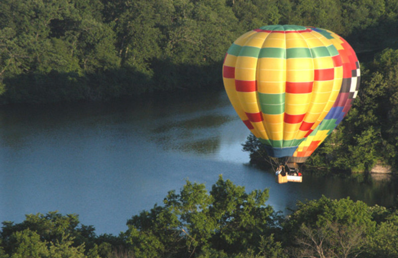 Hot Air Balloon Rides at  Eagle Ridge Resort