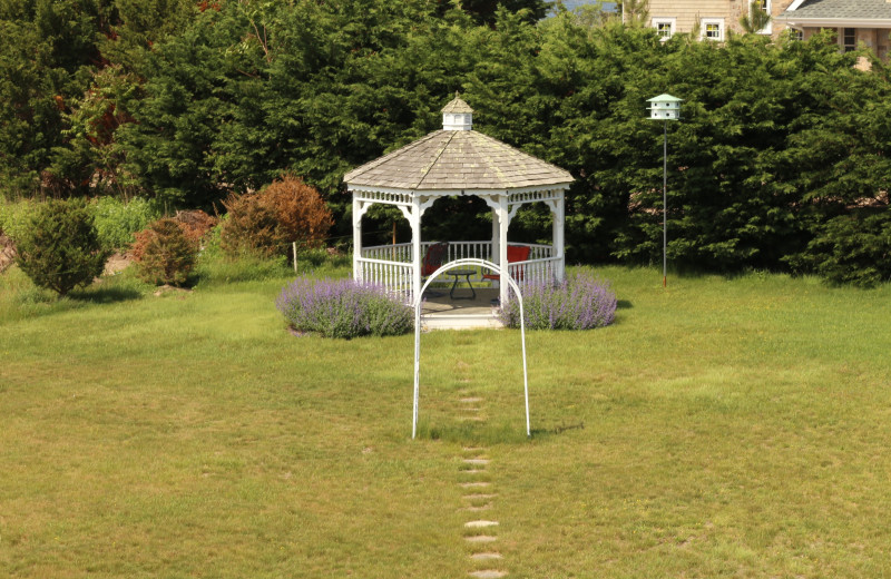 Gazebo at A Victorian On The Bay.