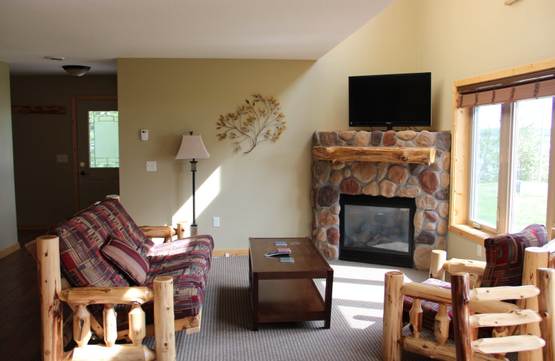 Guest room at Sportsman's Lodge.