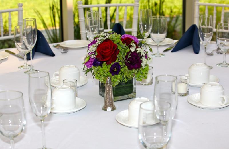 Wedding reception at Westport Inn.
