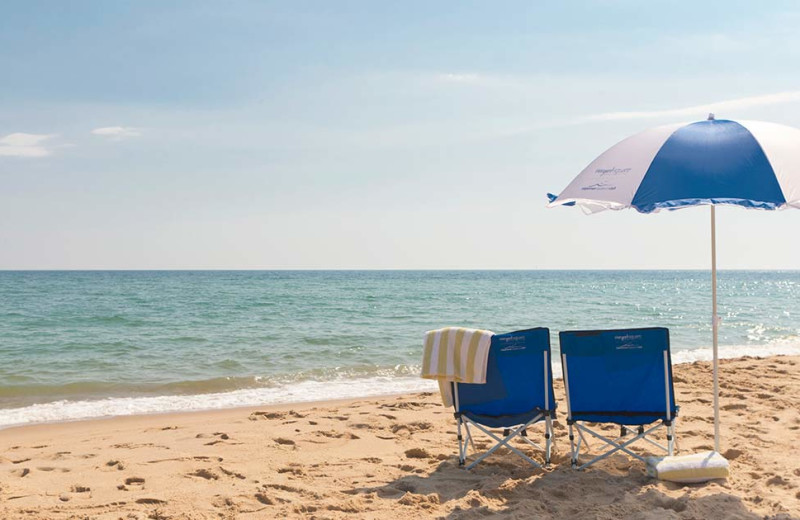 Beach near Vineyard Square Hotel & Suites.