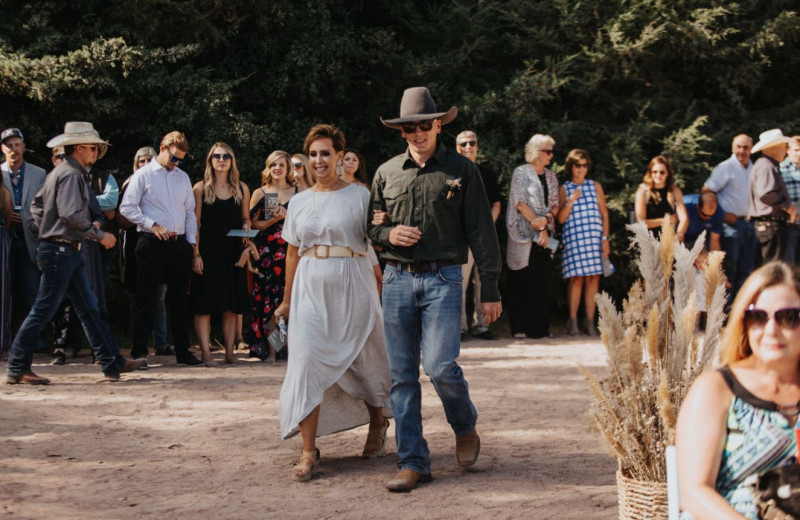 Weddings at Granite Springs Lodge.