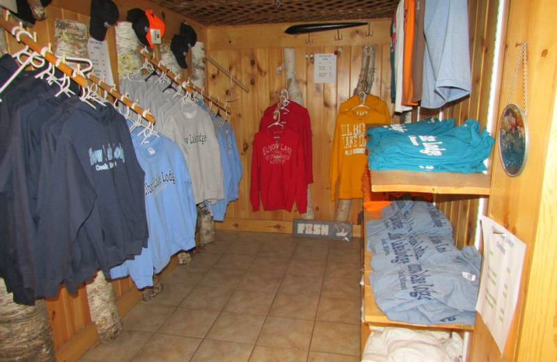Store at Elbow Lake Lodge.