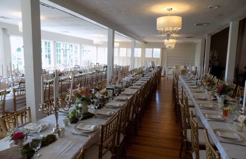 Wedding reception at Water Gap Country Club.