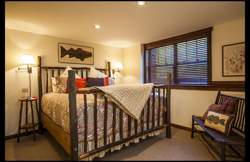 Rental bedroom at Owaissa Club Vacation Rentals.