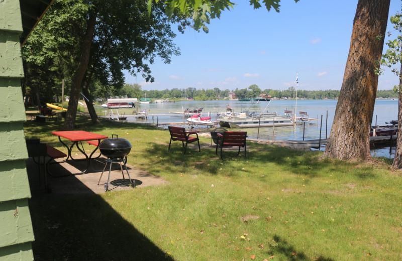 Lake view at Four Seasons Resort.