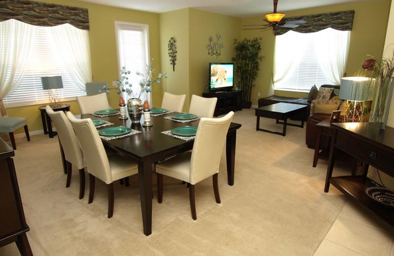 Vacation rental interior at Casiola Vacation Homes.