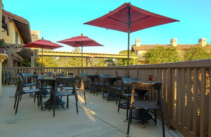Outdoor Dining at Hotel Abrego