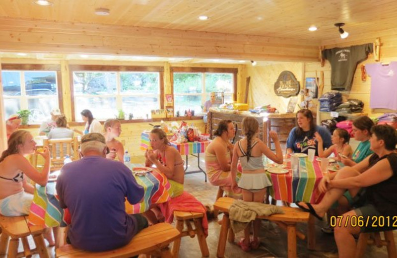 Family activities at Moose Track Adventures Resort.