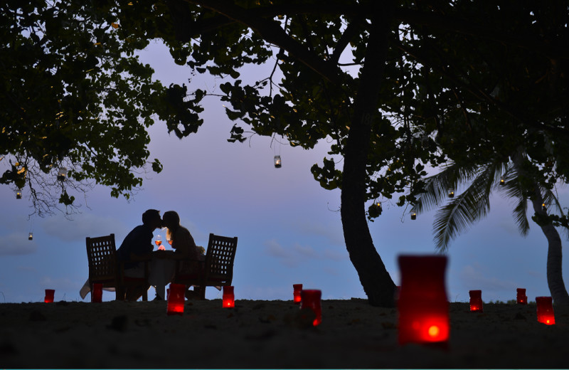 Couple at Bandos Island Resort.