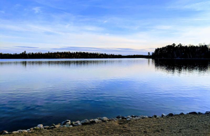 Lake view at Little Norway Resort.