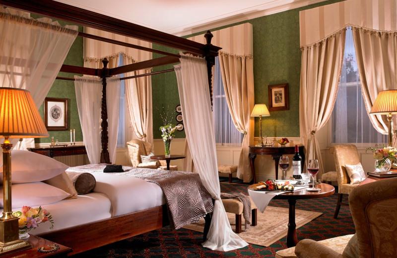 Guest room at Faithlegg House Hotel & Golf Club.