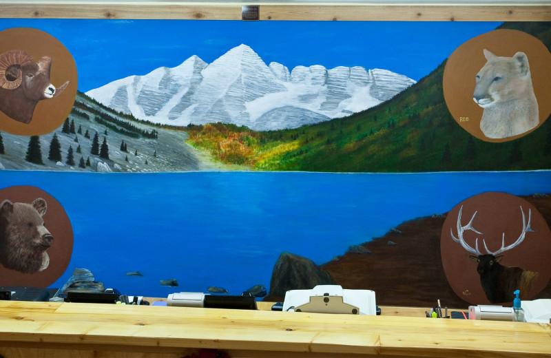 Front desk at Colorado Springs KOA.