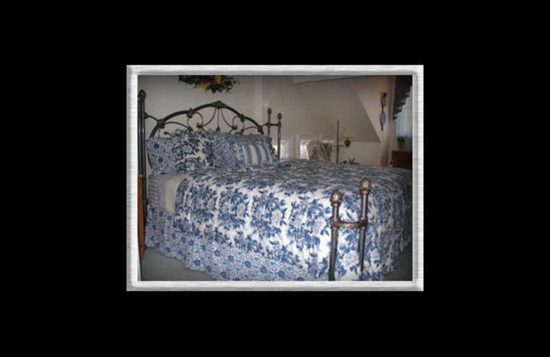 Guest room at Hedgerow Bed & Breakfast.
