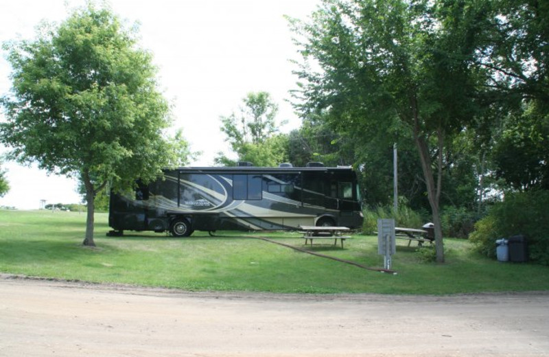 RV campground at Scenic Point Resort.