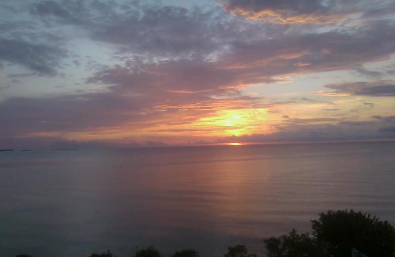 Sunset at Sea Front Inn.