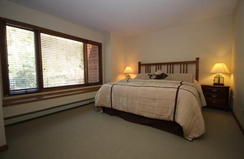 Suite Bedroom at Boulder Brook on Fall River